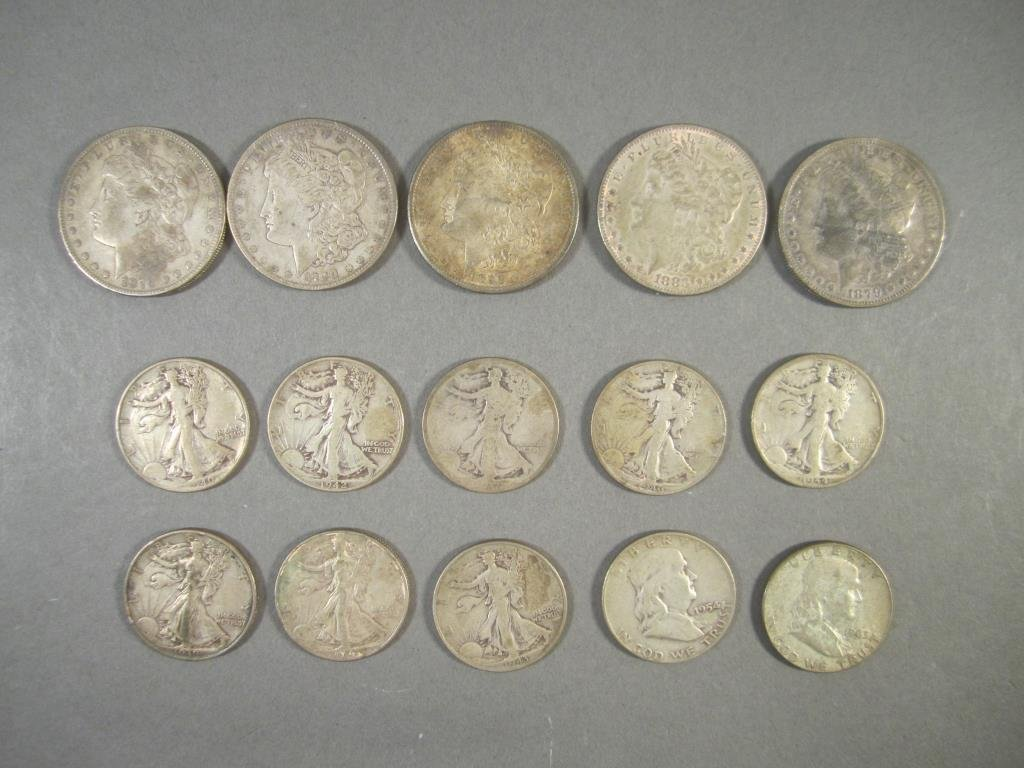 15 Vintage US Silver Coins