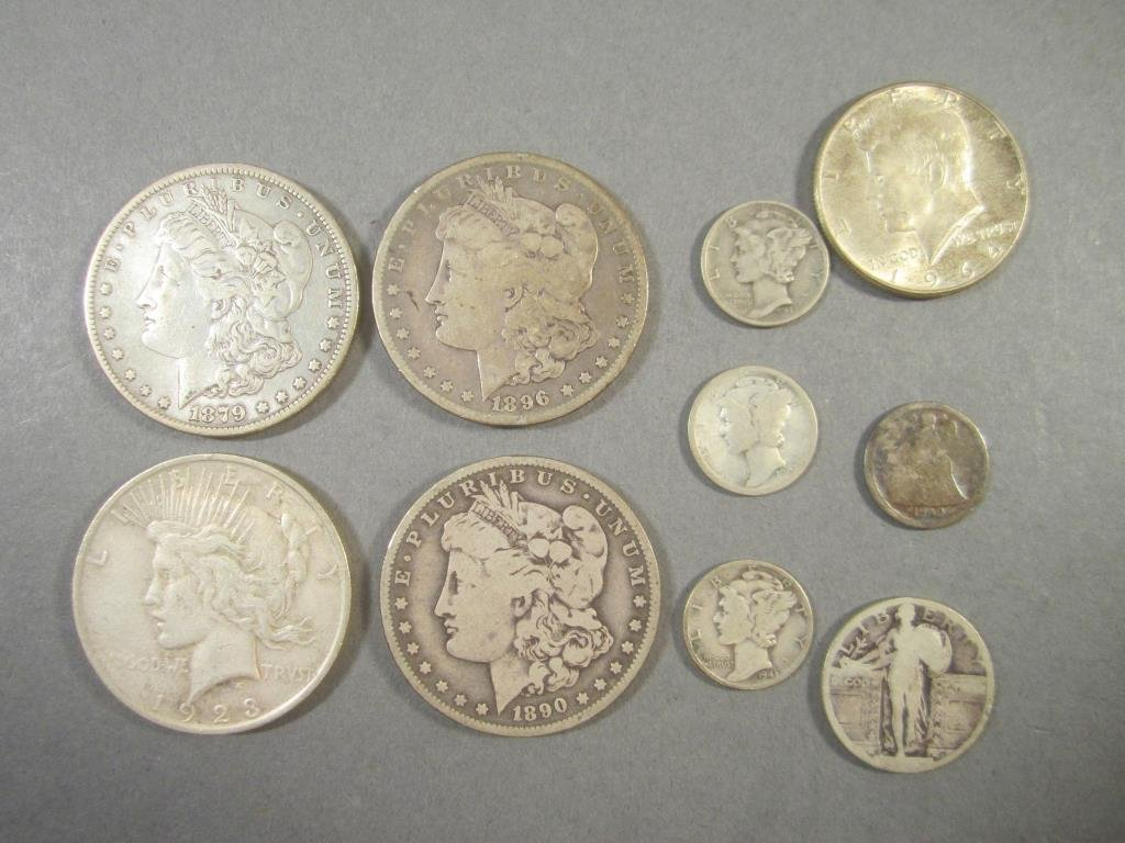 Assorted 19th & 20th Century US Coinage