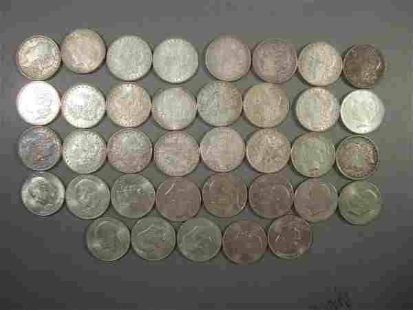37 US Dollar Coins