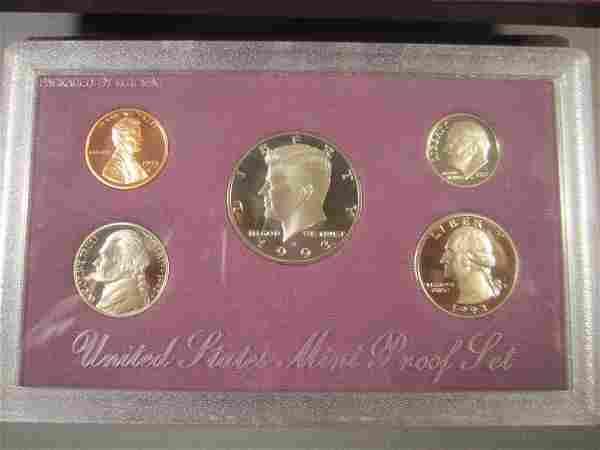Four US Mint Proof Sets