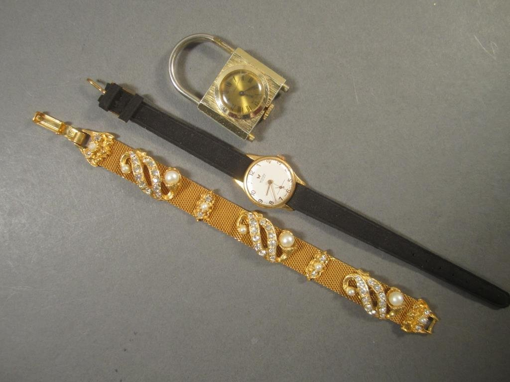 Costume Jewelry and Watch Cases