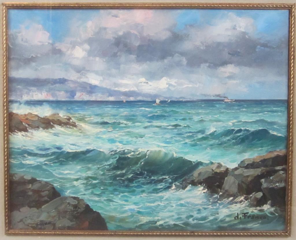 Signed di Franco - Oil on Canvas