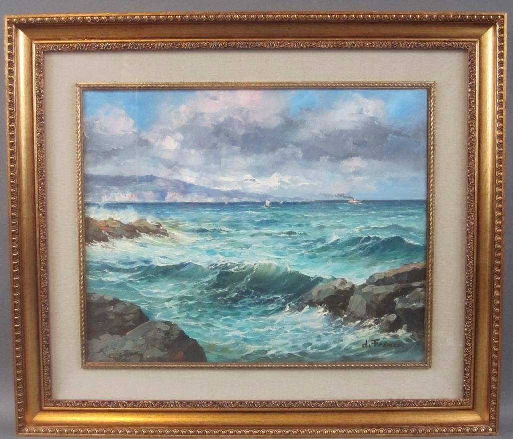 Signed di Franco - Oil on Canvas - 2
