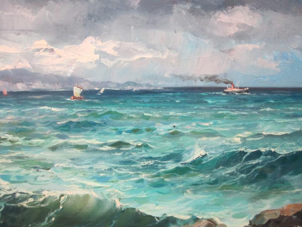 Signed di Franco - Oil on Canvas - 3
