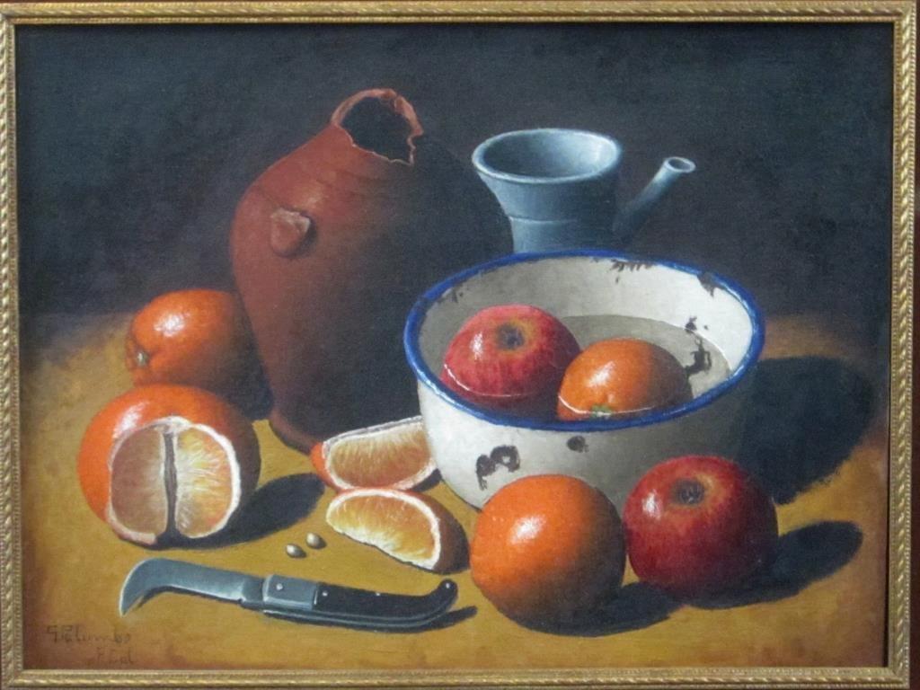Giuseppe Palumbo - Oil on Board