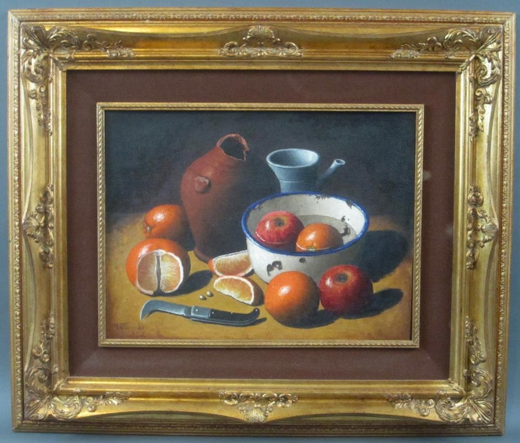 Giuseppe Palumbo - Oil on Board - 2