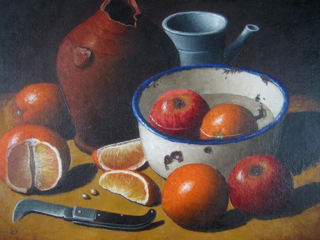 Giuseppe Palumbo - Oil on Board - 3