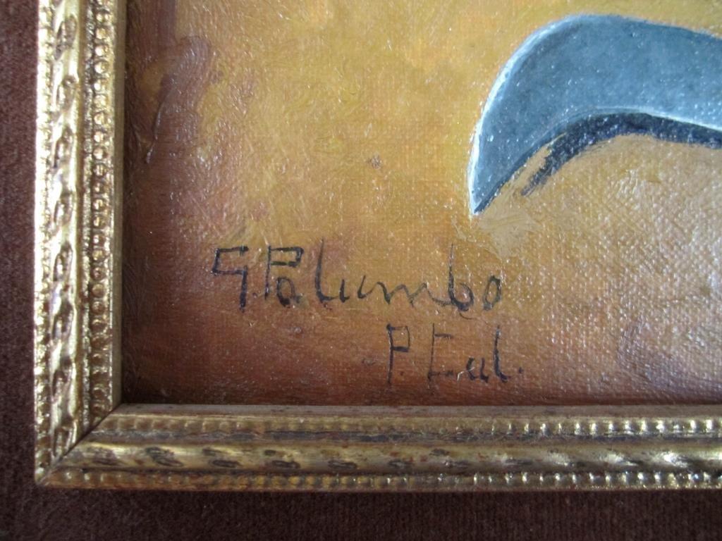 Giuseppe Palumbo - Oil on Board - 4