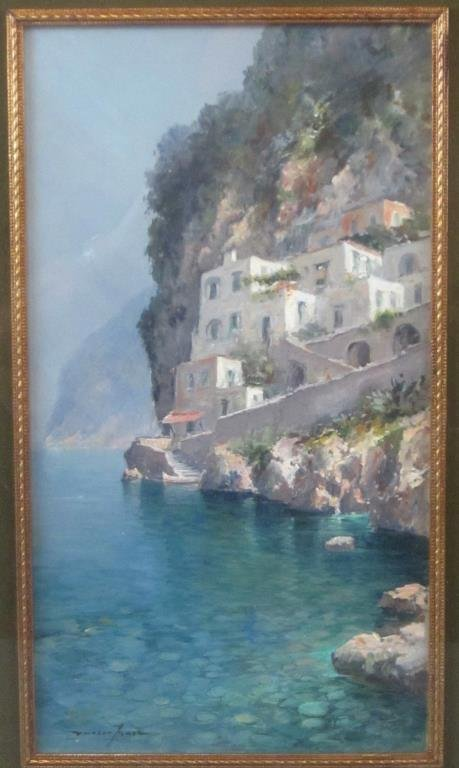 Andrea Patrisi (Italian, b. 1954) - Oil on Board