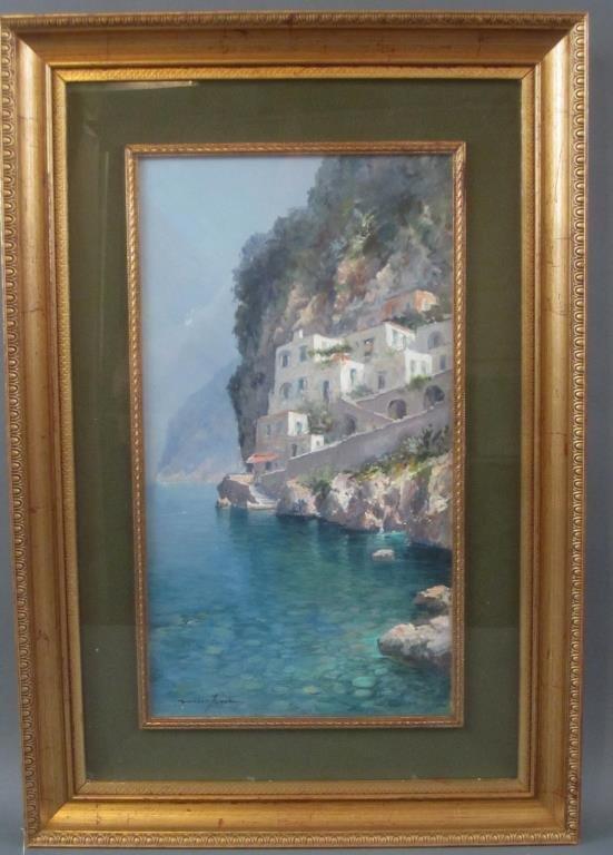 Andrea Patrisi (Italian, b. 1954) - Oil on Board - 2