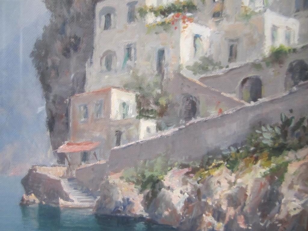 Andrea Patrisi (Italian, b. 1954) - Oil on Board - 3