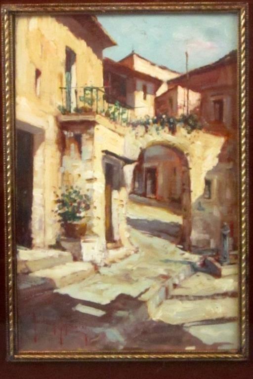 Andrea Patrici (Italian, b. 1954) - Oil on Board