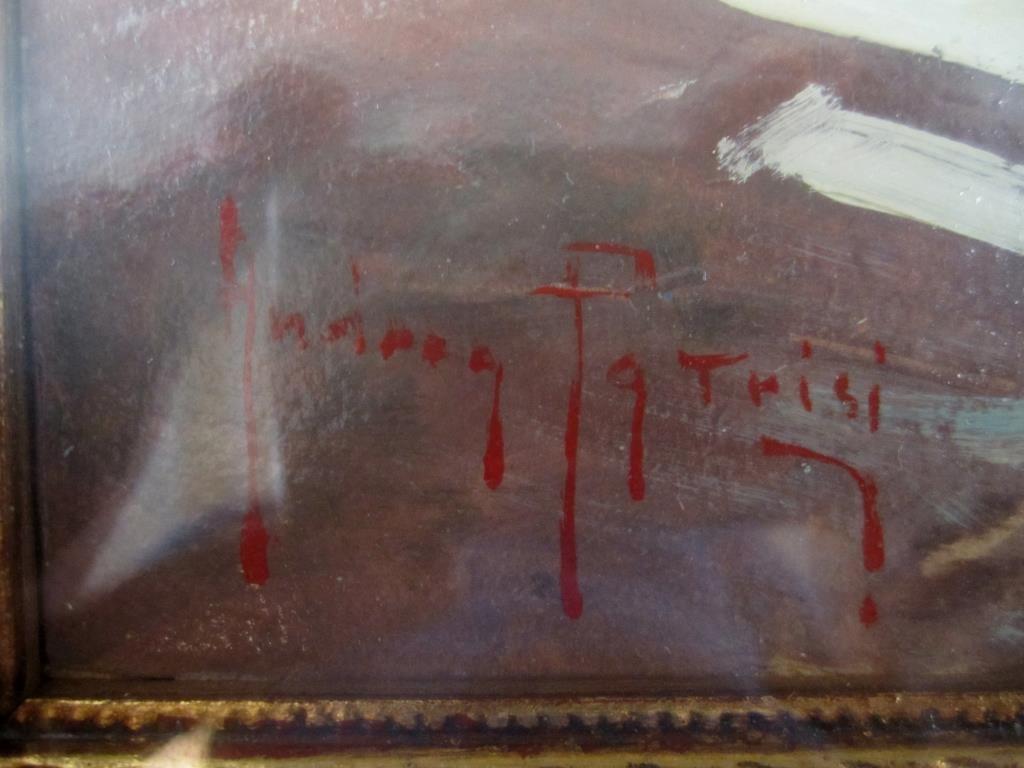 Andrea Patrici (Italian, b. 1954) - Oil on Board - 3