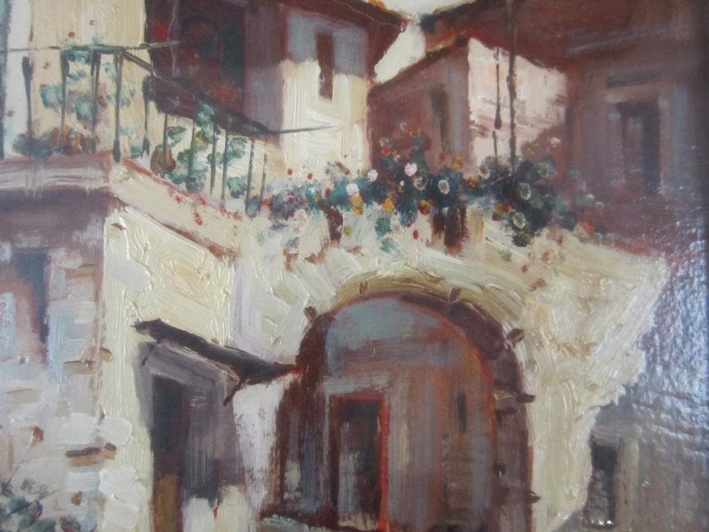 Andrea Patrici (Italian, b. 1954) - Oil on Board - 4