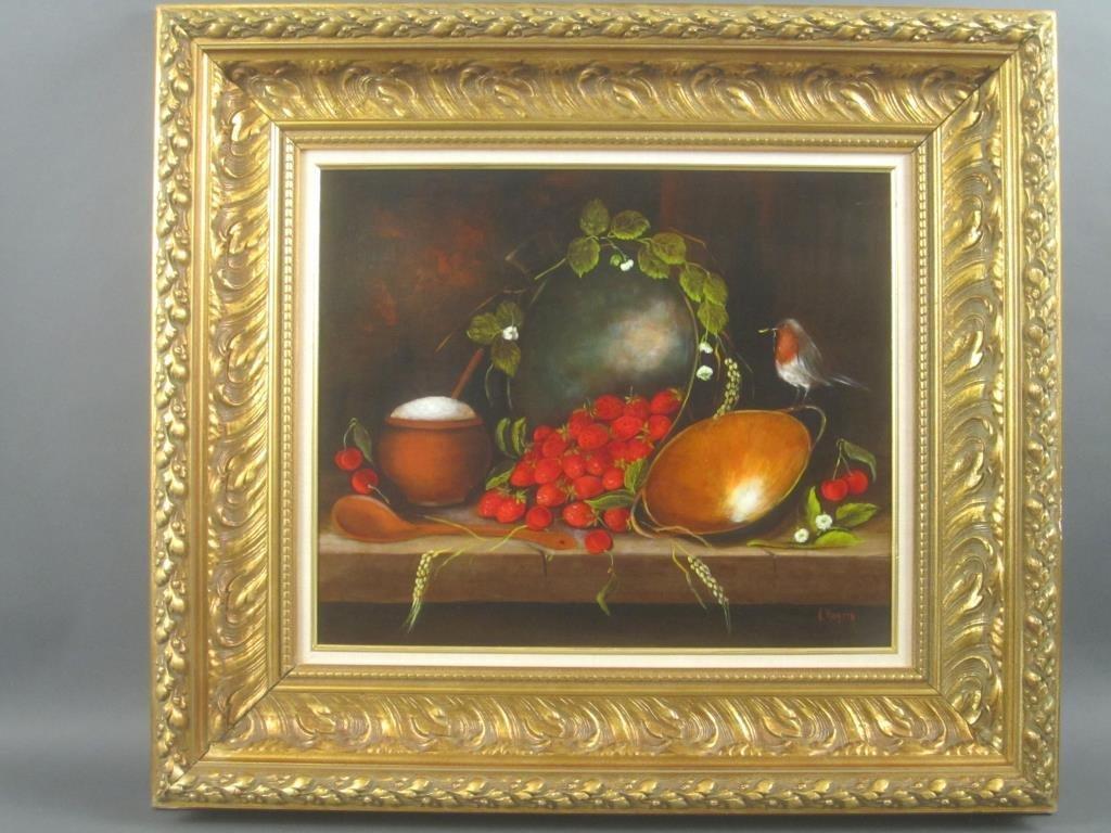 Signed N. Roatta - Oil on Canvas - 2