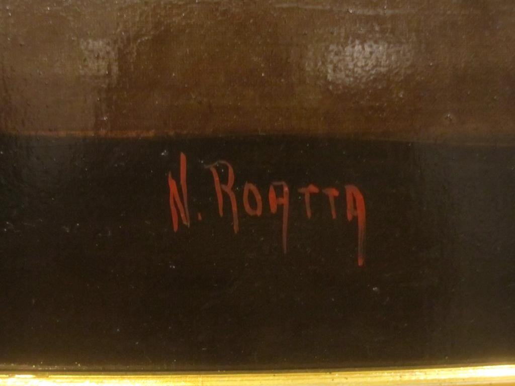 Signed N. Roatta - Oil on Canvas - 4