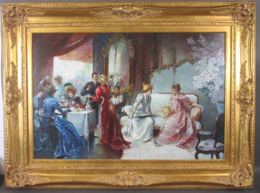 Decorative Oil on Canvas