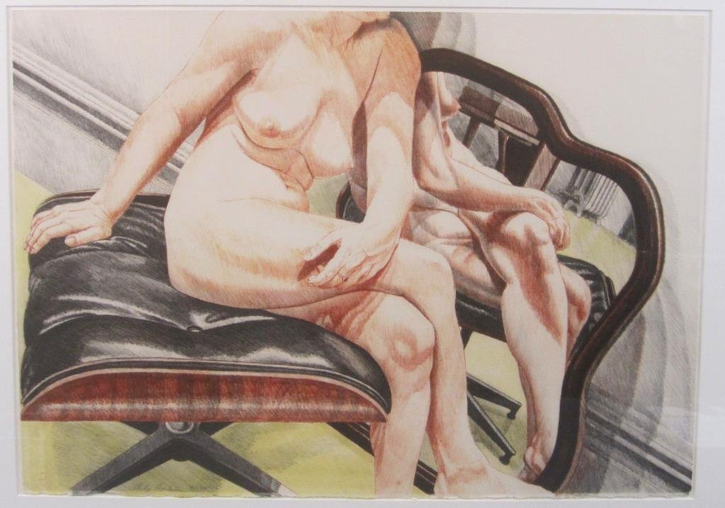 Philip Pearlstein - Lithograph