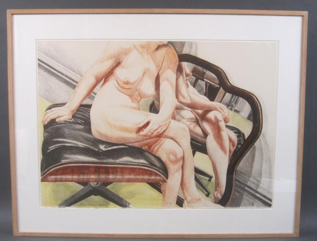 Philip Pearlstein - Lithograph - 2