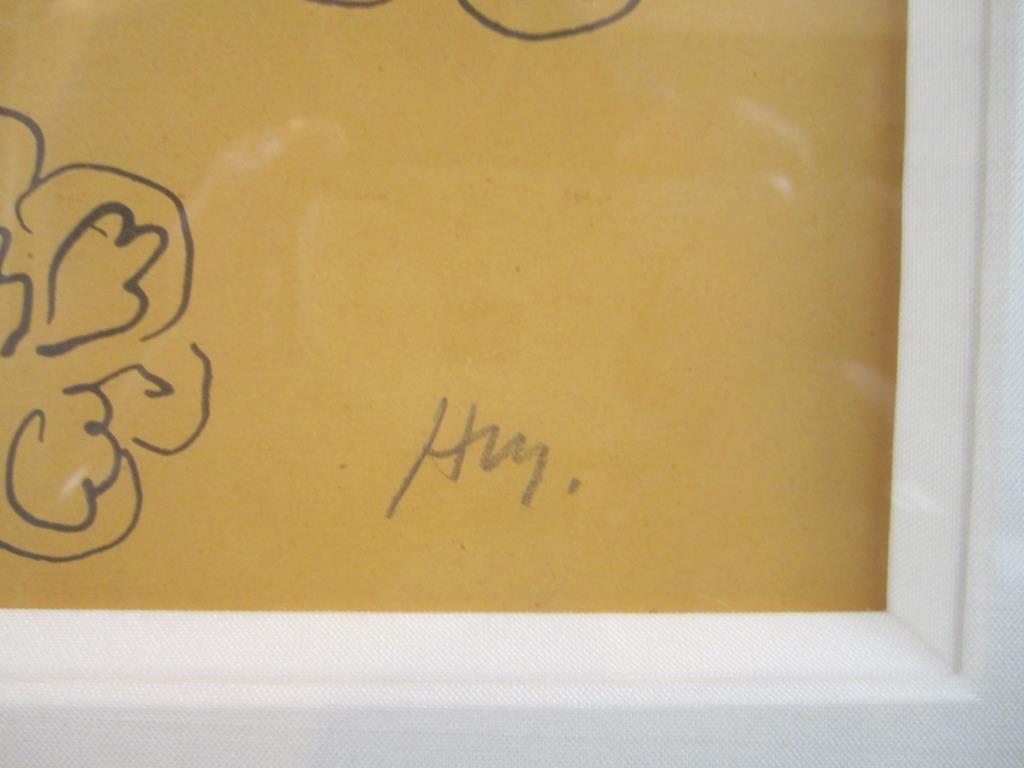 Initialed H. M. (Henri Matisse) - Print - 4