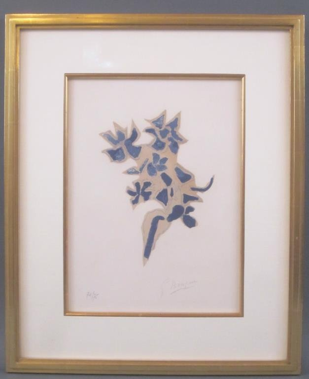 Georges Braque - Lithograph - 2