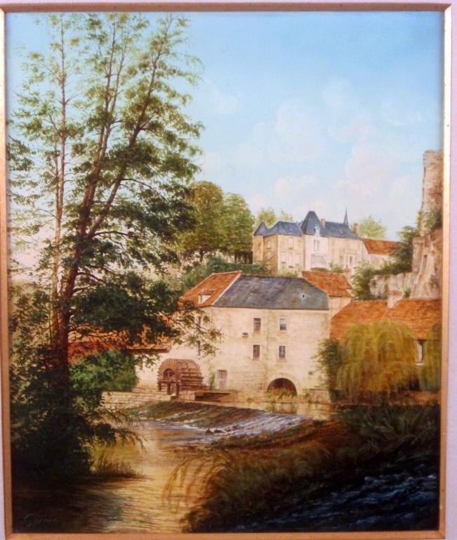 Signed Garner - Oil on Canvas