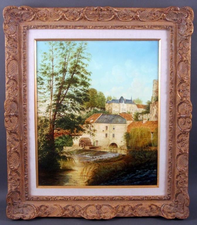 Signed Garner - Oil on Canvas - 2