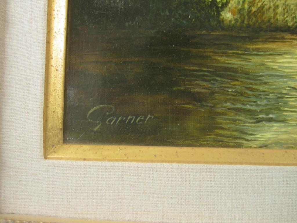 Signed Garner - Oil on Canvas - 4
