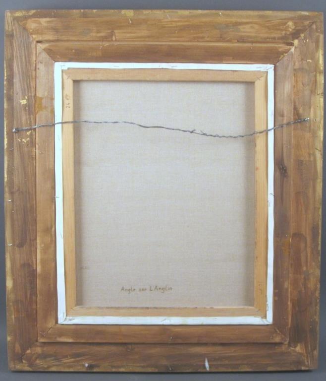 Signed Garner - Oil on Canvas - 5