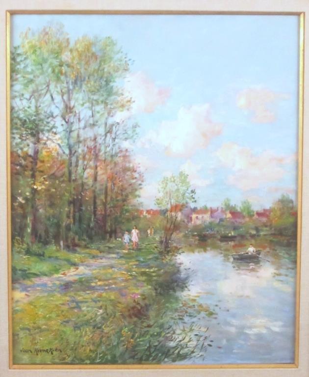 Jean Kevorkian - Oil on Canvas