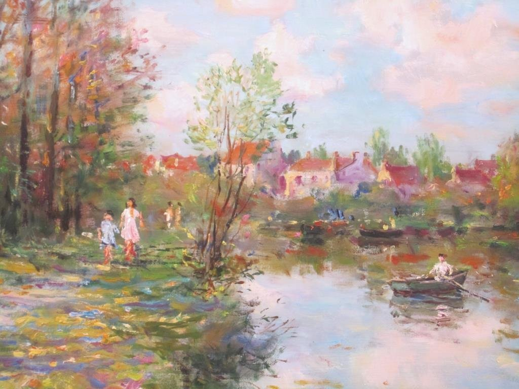 Jean Kevorkian - Oil on Canvas - 3