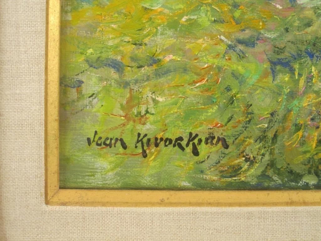 Jean Kevorkian - Oil on Canvas - 4