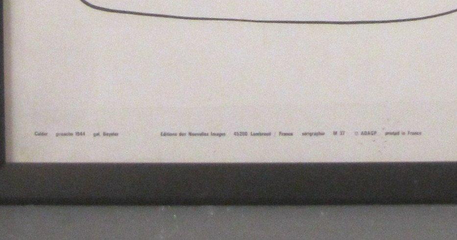 French Alexander Calder Poster - 4