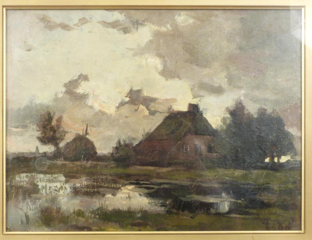 Theophile Emile Achille de Bock (Dutch 1851-1904)