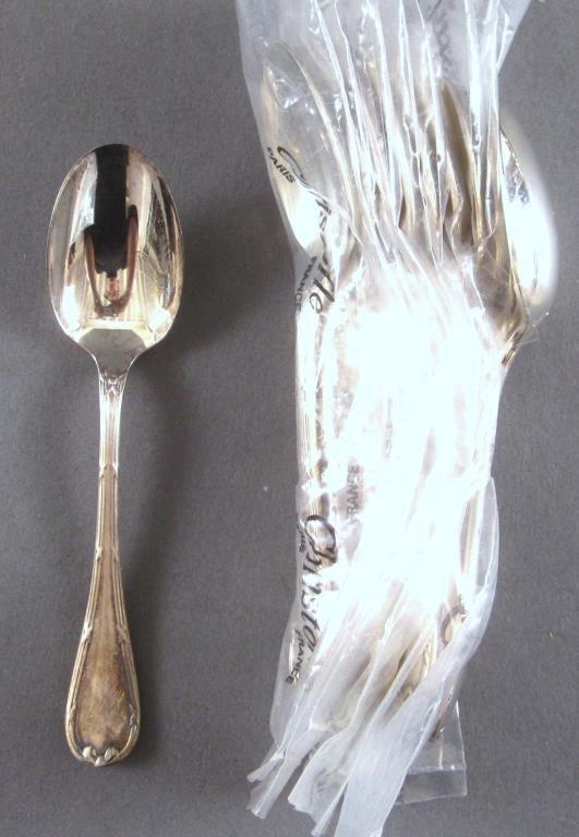 106 Piece Christofle Silver Plated Flatware Set - 10