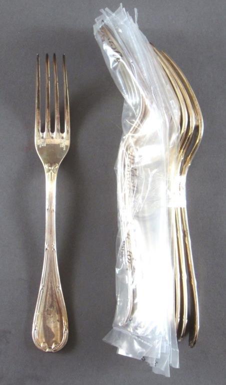106 Piece Christofle Silver Plated Flatware Set - 7