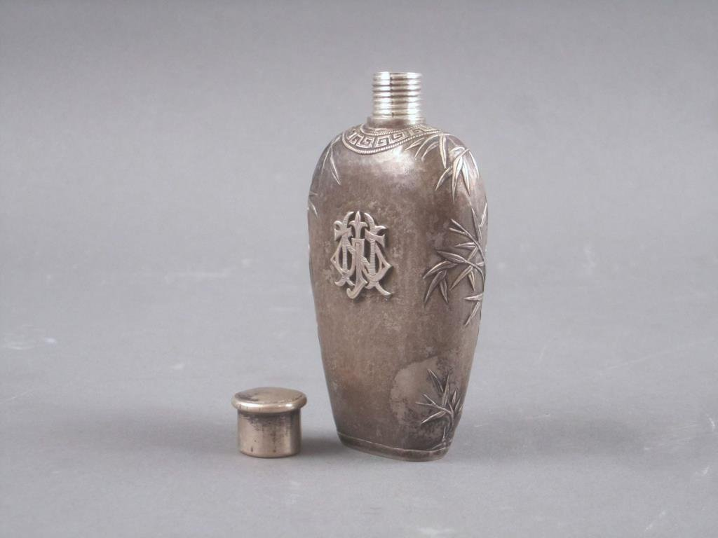 Chinese Silver Small Flask - 3