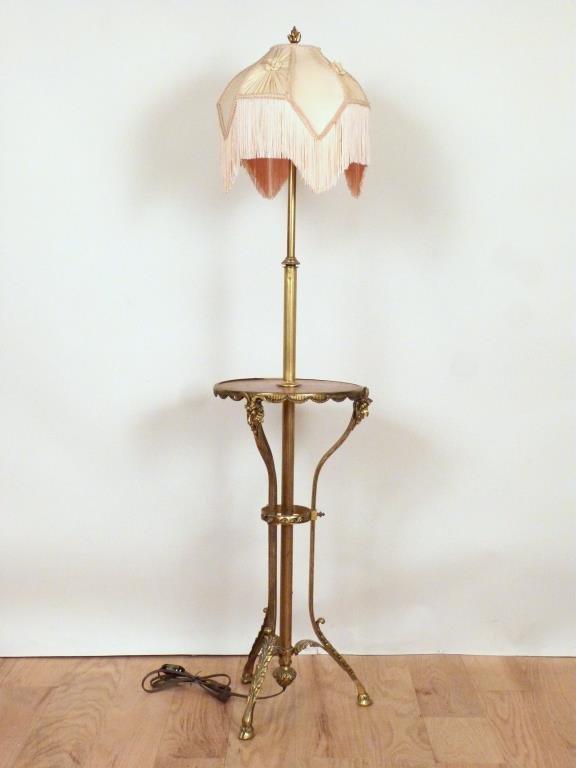 Regency Style Stick Lamp Table