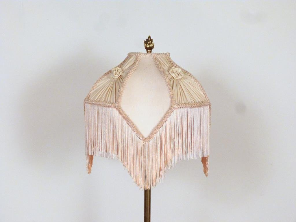 Regency Style Stick Lamp Table - 2