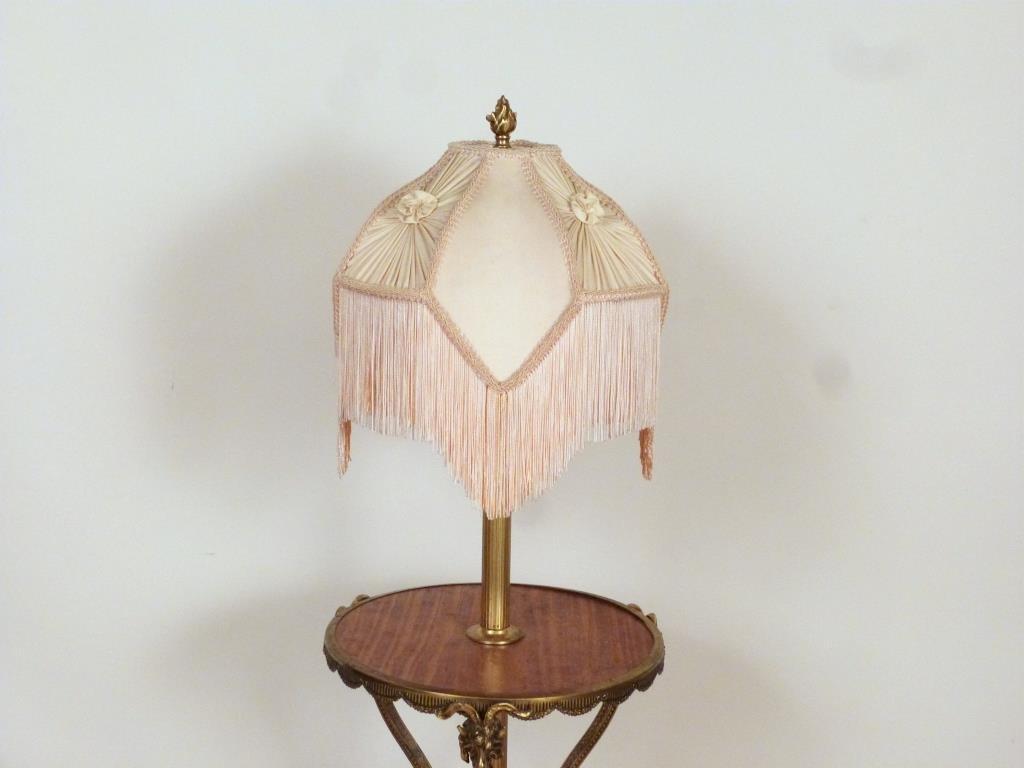Regency Style Stick Lamp Table - 4