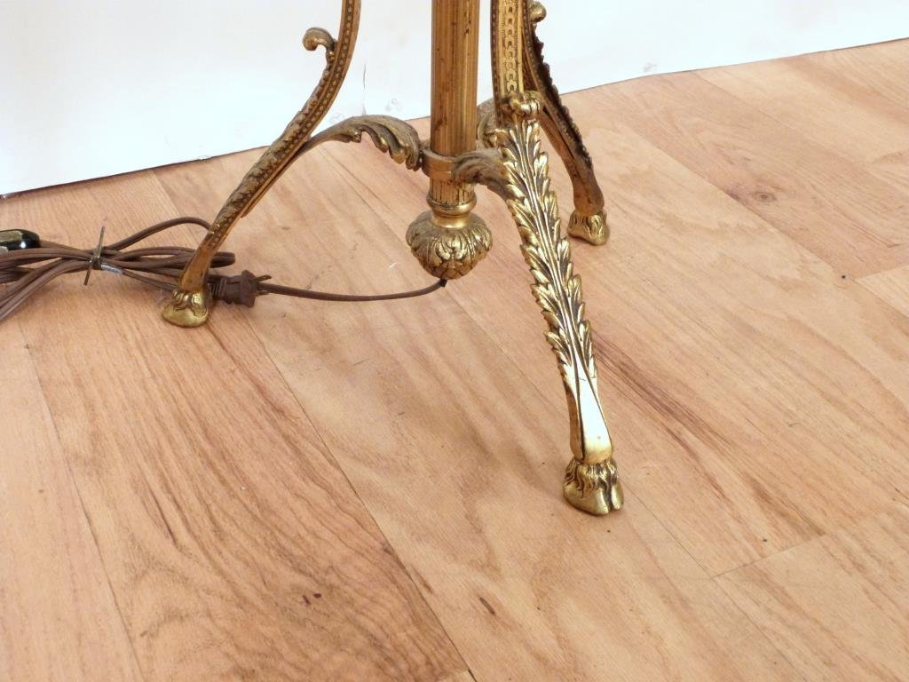 Regency Style Stick Lamp Table - 6