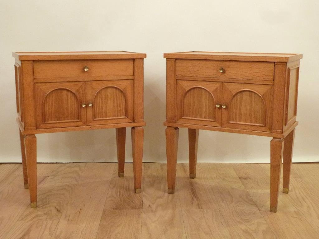 Pair Decaux & Maous Night Tables