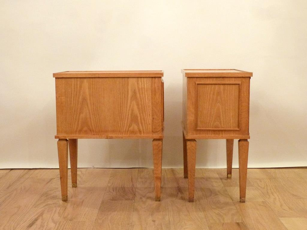Pair Decaux & Maous Night Tables - 2