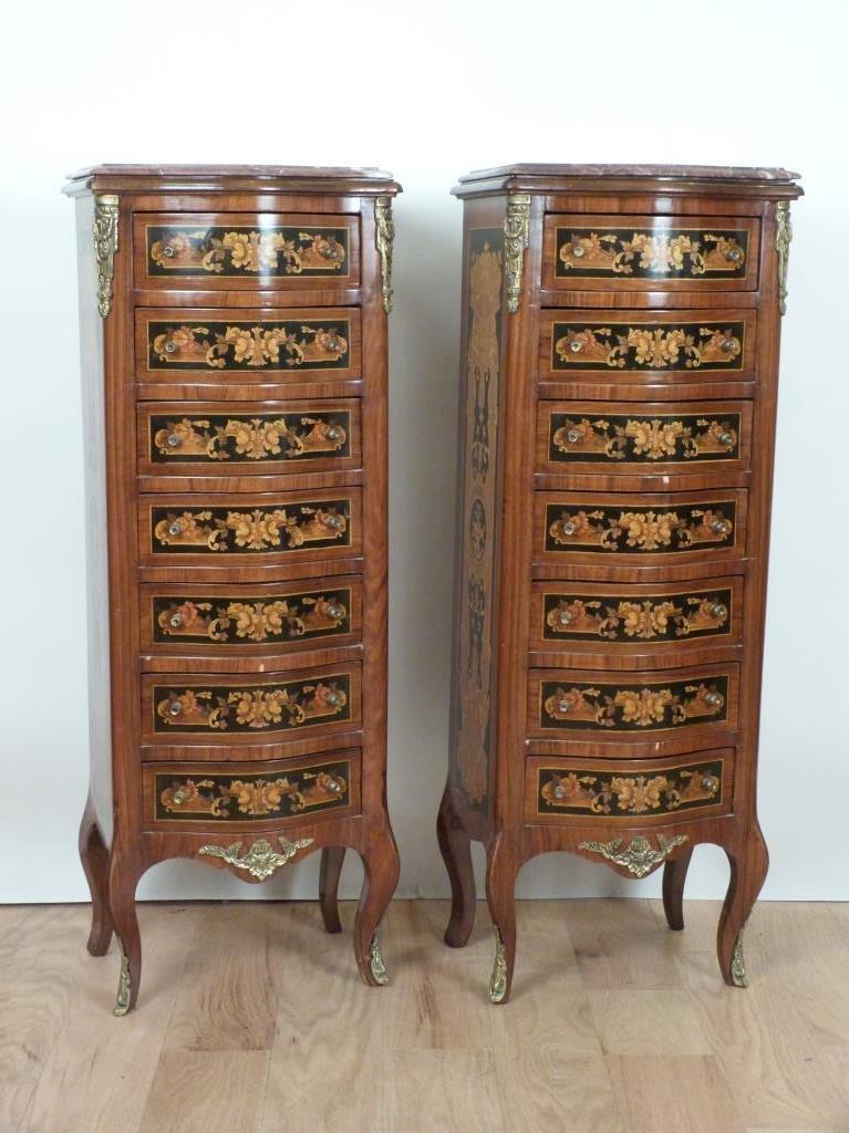 Pair Louis XV Style Semoniers