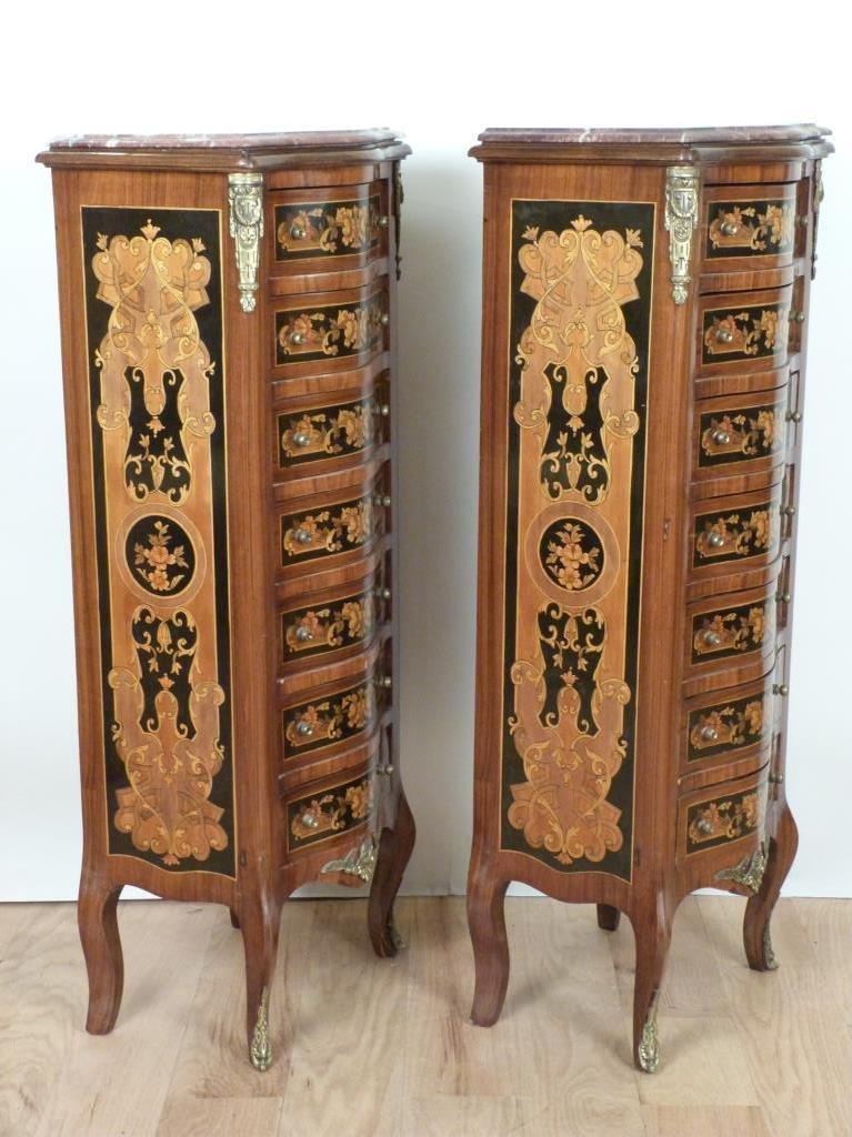 Pair Louis XV Style Semoniers - 2