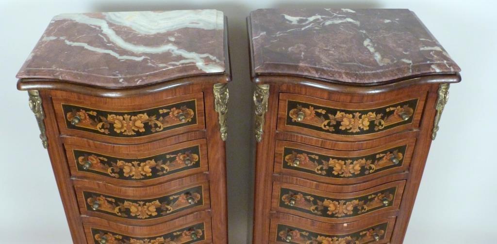 Pair Louis XV Style Semoniers - 3