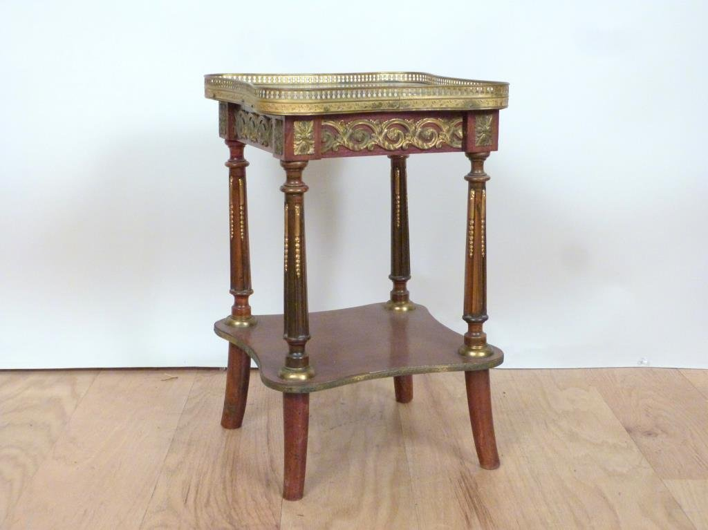 French Two Tier Urn Stand