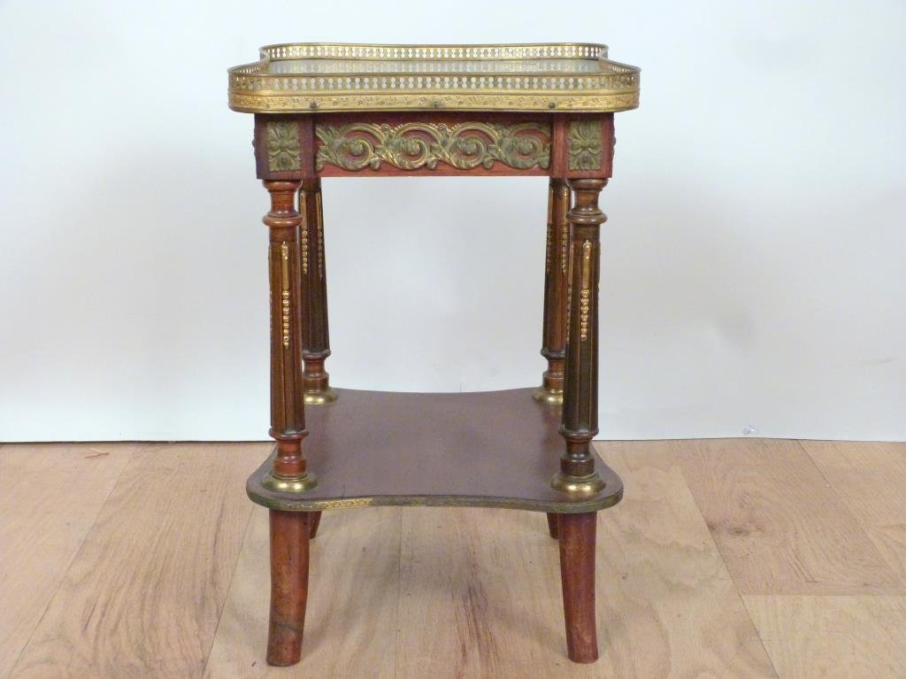 French Two Tier Urn Stand - 3