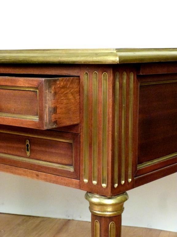 French Louis XVI Style Bureau Plat - 4