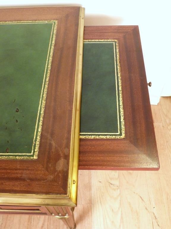 French Louis XVI Style Bureau Plat - 7